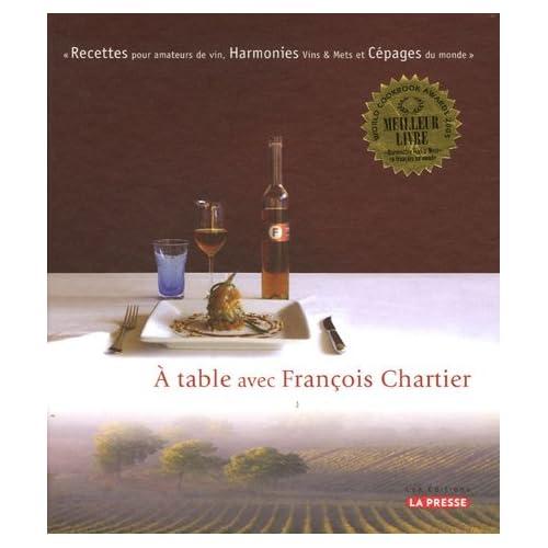 A table avec François Chartier