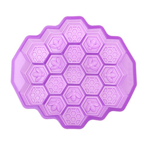 19 Cell Silicone Honeycomb Bees Fondant Mould Cake Chocolate Soap Icing DIY Mold 28 Chocolate Mold