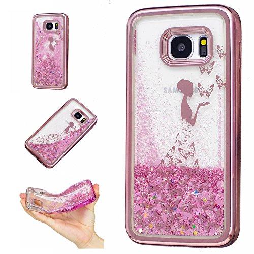 Qiaogle Téléphone Coque - Soft TPU Silicone Housse Coque Etui Case Cover pour Apple iPhone 6 / iPhone 6S (4.7 Pouce) - HIX01 / Mandala HIX07 / Fille