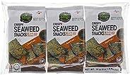 Bibigo Snack Gim, Seasoned Seaweed (Bulgogi BBQ) -5Grams x 3Packs