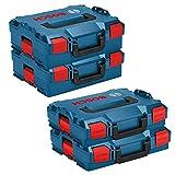 Bosch L-Boxx Set - 2x 102 / Gr.1 + 2x 136 / Gr.2 - Neue Ausführung ohne Einlagen