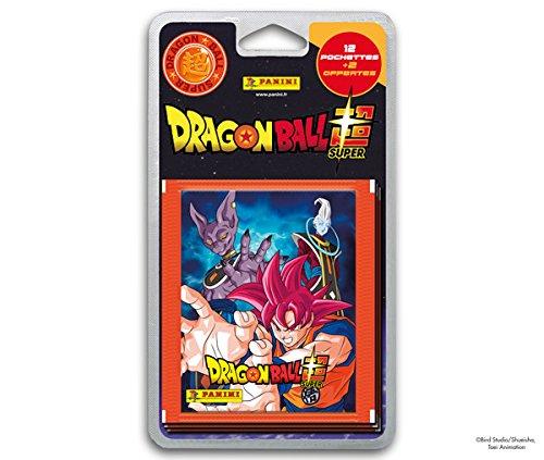 Panini Francia sa-Dragon Ball Super Blister 14Fundas, 2407-020