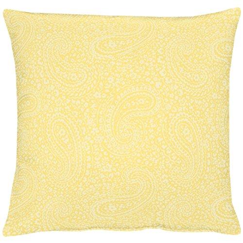 APELT 7907 48X48 50 Kissen gefüllt, Polyester, gelb
