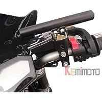 yuver (TM)–22,2mm Moto Alluminio multi-bar Frizione Freno Holder morsetto tipo per BMW R1200GS Yamaha Tmax SUZIKI Kawasaki Ducati