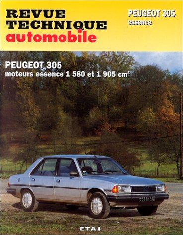 Revue technique de l'Automobile numéro  441.5 :  Peugeot 305, GR, SR, 1986-1989, GT, GTX, automatique 1983-1989 par Etai