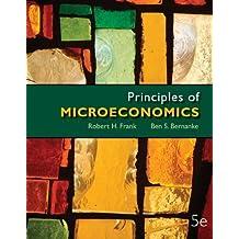 Principles of Microeconomics (McGraw-Hill Series in Economics) by Robert Frank (2012-02-13)