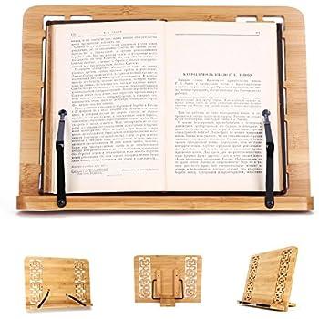 Repose livre support recette support de livres cuisine de bureau livres de support de livre de - Repose livre cuisine ...