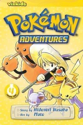[Pokemon Adventures: 04] (By: Hidenori Kusaka) [published: September, 2013]