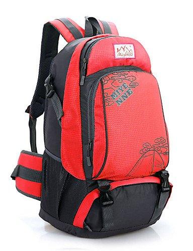 ZQ 36L L Tourenrucksäcke/Rucksack / Radfahren Rucksack / Rucksack Camping & Wandern / Klettern / Reisen OutdoorWasserdicht / Wärmeisolierung Red