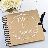 Personalised Wedding Guestbook or Scrapbook/Photo Album/Guest Book