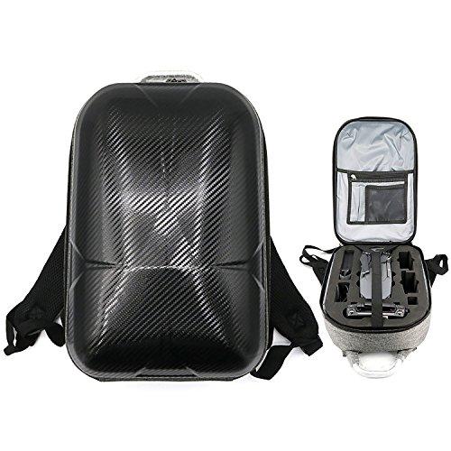 Asvert Sac Drone Rigide à Dos en Coquille PC pour DJI Mavic Pro, Noir