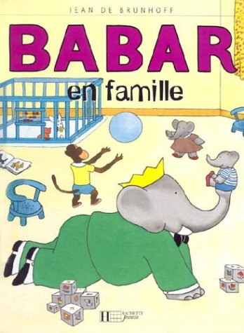 Babar En Famille por Laurent de Brunhoff