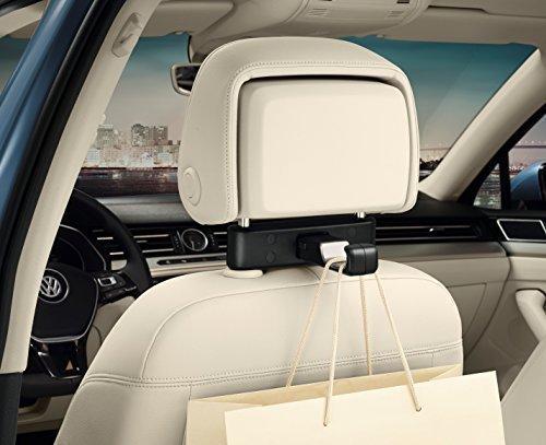 Volkswagen 000061126B Original Universalhaken für die Kopfstütze, Reise und Komfort System