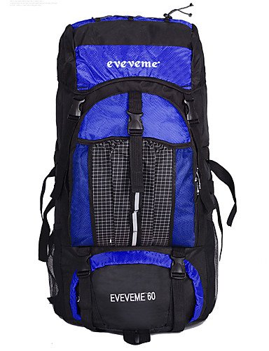 ZQ 60 L Laptop-Rucksäcke / Wandern Tagesrucksäcke / Travel Organizer / Rucksack Camping & Wandern / Klettern / Radsport DraußenWasserdichter Orange