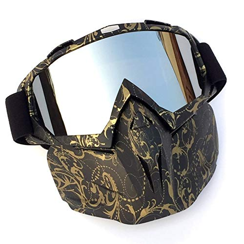 Peanutaod Motorrad Cross Country Helm Maske Schutzbrille Langlebige Motorradbrille