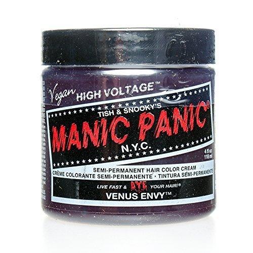 tage Hair Dye - Vegan Hair Dye - Venus Envy (dark green) 118ml by Manic Panic (English Manual) ()