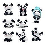 8 pièce Panda Aimant de réfrigérateur Décoration
