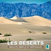 Les deserts - Beaute simple et depouillee 2016: Sable chaud etendues infinies - le desert (Calvendo Places)