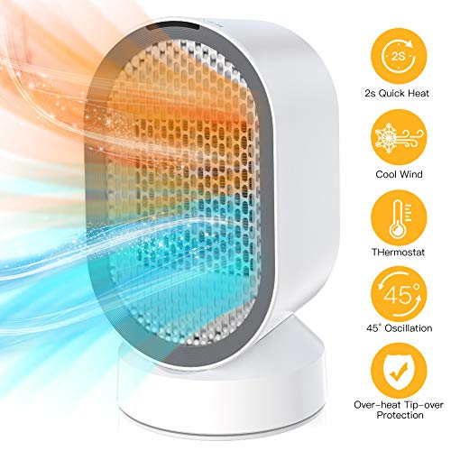 Uvistare Calefactor Eléctrico de Aire Personal