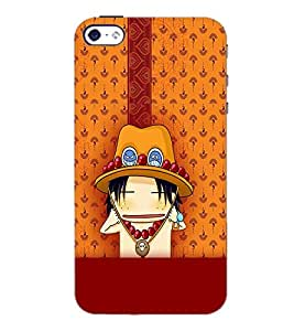 PrintDhaba Cartoon D-2626 Back Case Cover for APPLE IPHONE 4S (Multi-Coloured)