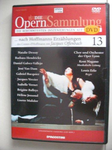 Die Opernsammlung - Die berühmtesten Inszenierungen auf DVD ~ ...Hoffmanns Erzählungen von Jaques Offenbach  13 - ungekürzte Fassung 120 Min. (Arthaus Musik)