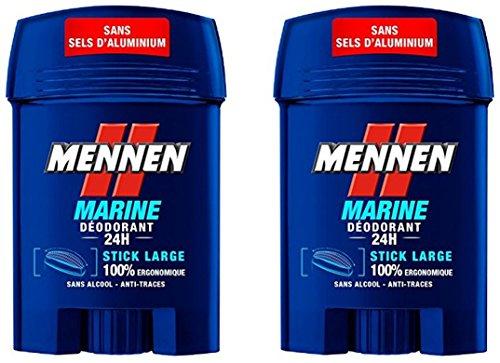 MENNEN Déodorant Marine 24 H 50 ml 2 Pièces