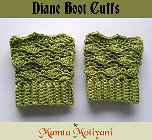 Winter-boot-liner (Diane Boot Cuffs | Easy Crochet Pattern: A Unique Design Leg Warmer For Romantic Women (English Edition))