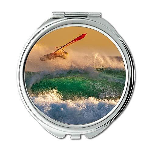 Yanteng Spiegel, Travel Mirror, Aktion Aktion Energieaktivität, Taschenspiegel, tragbarer Spiegel 009 Ram