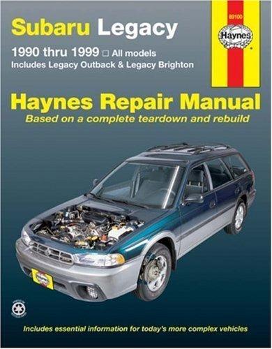 subaru-legacy-1990-thru-1999-includes-legacy-outback-legacy-brighton-haynes-repair-manual-1st-by-fre