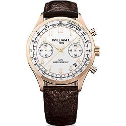 Reloj William L. para para Hombre WLOR01BCORBM