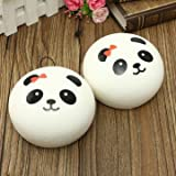 Kawaii Jumbo Panda Squishy Buns Cell Pho...