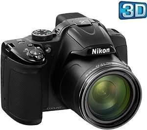 NIKON P520 - black + SDHC Extreme III 8 GB memory card + Case - Size M