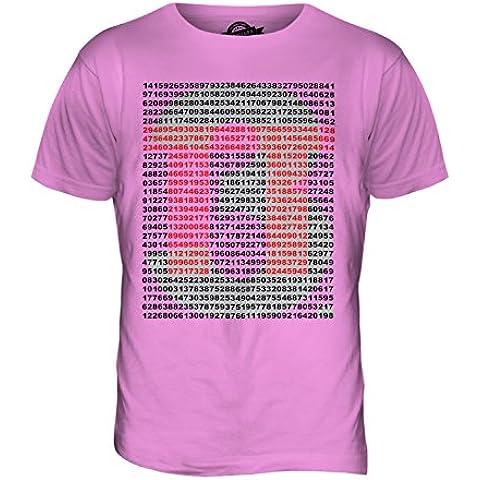 CandyMix Pi Greco Valore T-Shirt da Uomo Maglietta