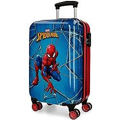 Marvel Spiderman Black Equipaje infantil, 55 cm, 37.4 litros, Multicolor