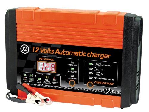 Xlpt 553983 Carica-Batteria Automatico 12V, 10 a 95Ah, XL