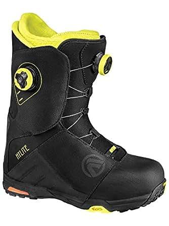 Flow HyLite Focus 2014 Chaussures de snowboard pour homme noir Noir/couleurs fluo 8.5