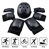 equipo de protección ajustable casco, rodilleras, coderas y guantes para bicicleta BMX, motocicleta, skateboard, monopatín y otros deportes extremos