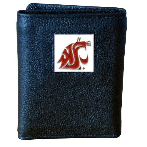 Siskiyou NCAA Deluxe Geldbörse aus Leder, Herren, Washington State Cougars (Washington University State Cougars)