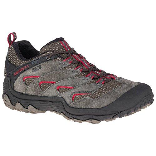 51QGMFj8nnL. SS500  - Merrell Men's Cham 7 Limit Waterproof Low Rise Hiking Boots