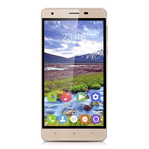 "OUKITEL K6000 Pro 4GSmartphone (Android 6.0 MT6753- Octa Core - Ecran: 5.5"" LTPS - 3Go RAM - 32Go ROM - Dual SIM ) Or"