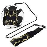 Kit per l'Allenamento, Aodoor Calcio formazione pratica individuale calcio trainer, Calcio Trainer Solo, cintura regolabile