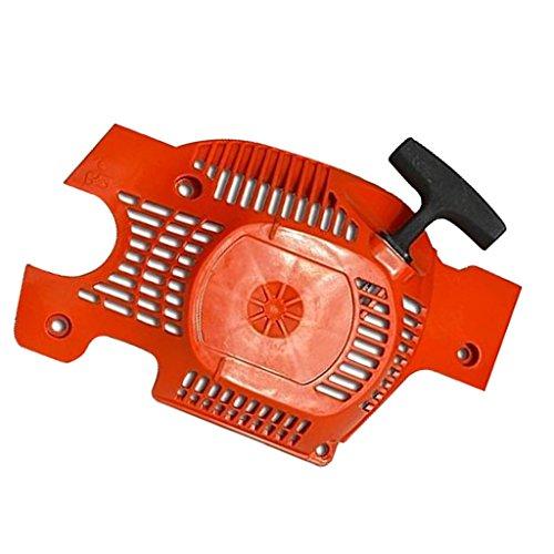 Fenteer Ersatz Seilzugstarter Kettensäge Recoil Pull Starter Assembly Kettensäge Ersatzteile aus Kunststoff Für Husqvarna 136 137 141 142 (Starter Pull Seil)