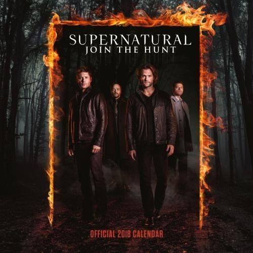Supernatural Official 2018 Calendar - Square Wall Format