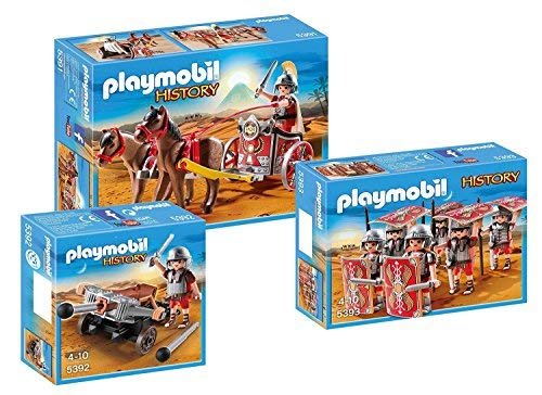 PLAYMOBIL Romanos Set 5391, 5392 + 5393