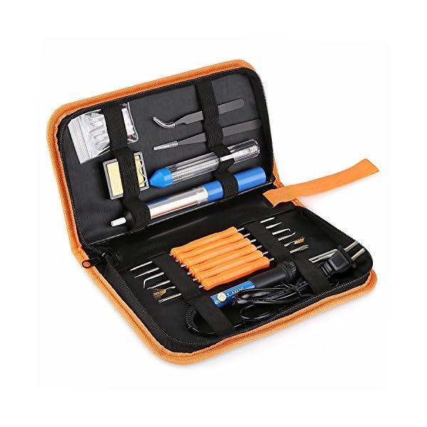 INTEY 13 N1 Kit De Soldador Para Producción De Electrónica, Mantenimiento