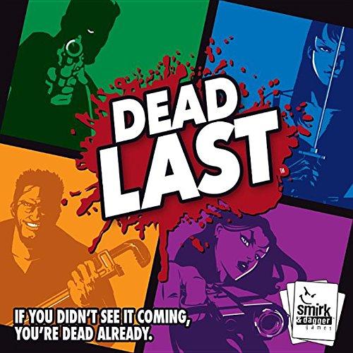 "Preisvergleich Produktbild Smirk and Dagger SMD00062 - Brettspiel ""Dead Last"""