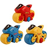 #9: Motor bike toy with push back action