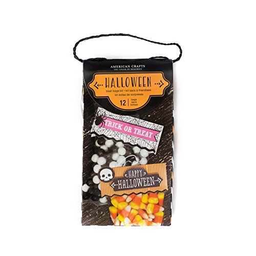 American Crafts 379832 Goodie Bag Halloween Goodie Bag Kit 12 Staubbeutel (Halloween-goodie-bags)