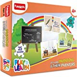 FUNSKOOL LETS LEARN INVENTIONS AND THIER INVENTORS PUZZLE - 9424900