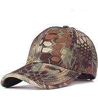 Cappello Berretti da Baseball Amazingdeal365 Cappelli Mimetici Unisex  Regolabile Camo Baseball Tappi (Verde dellesercito) 2e4fc6035bfa